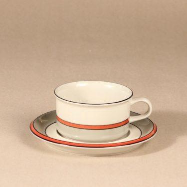 Arabia Aslak teekuppi, serikuva, 25 cl, suunnittelija Inkeri Leivo,