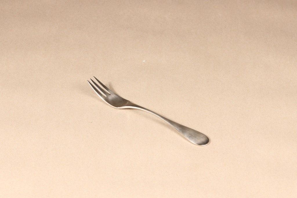 Hackman Mango haarukka, hopeanvärinen, suunnittelija Nanny Still,