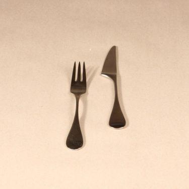 Hackman Mango haarukka ja veitsi, hopeanvärinen, 2 kpl