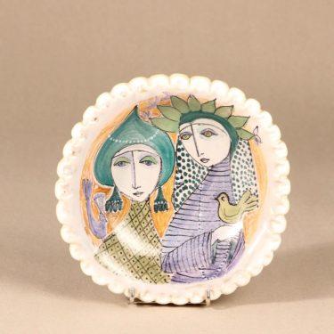 Arabia seinalautanen, käsinmaalattu, suunnittelija Hilkka-Liisa Ahola,