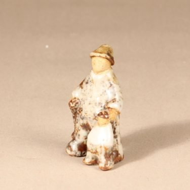 Arabia figuuri, käsinmaalattu, suunnittelija Sakari Vapaavuori, käsinmaalattu kuva 2