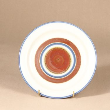 Arabia Wellamo plate, hand-painted, Peter Winquist
