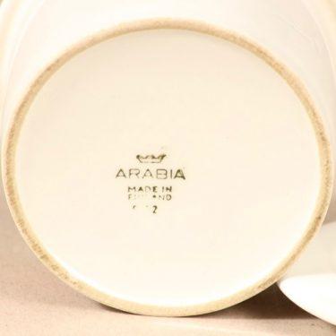 Arabia Tutti frutti purnukka, mansikka, suunnittelija Ulla Procope, mansikka, serikuva, retro kuva 3