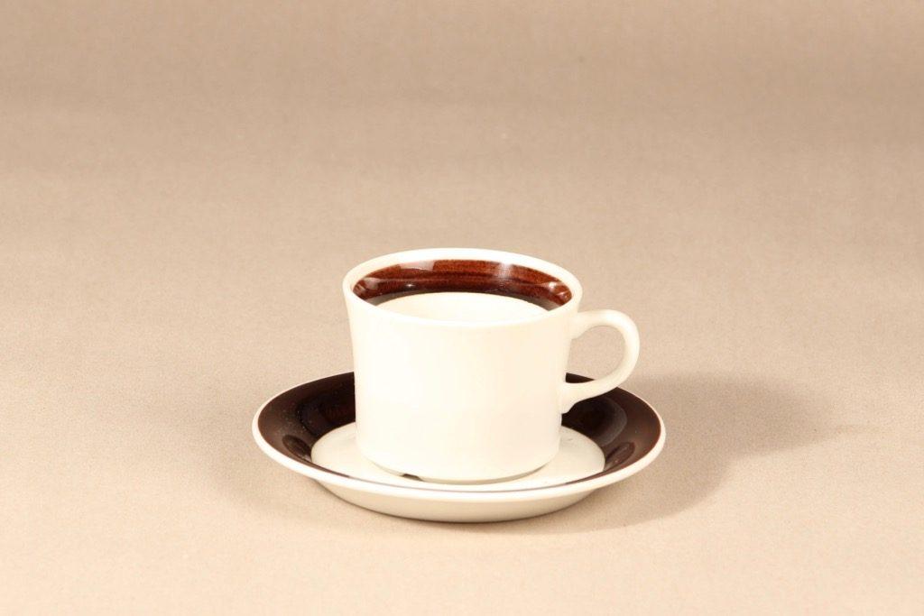 Arabia Inari tea cup, white, Göran Bäck,