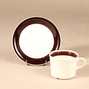 Arabia Inari tea cup, white, Göran Bäck, 2
