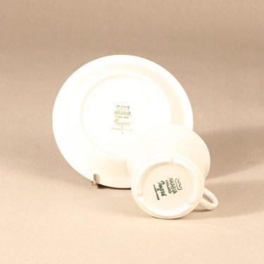 Arabia Inari tea cup, white, Göran Bäck, 3