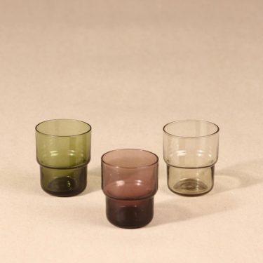 Riihimäen lasi Pinottava shot glass, 3 cl, 3 pcs, Saara Hopea