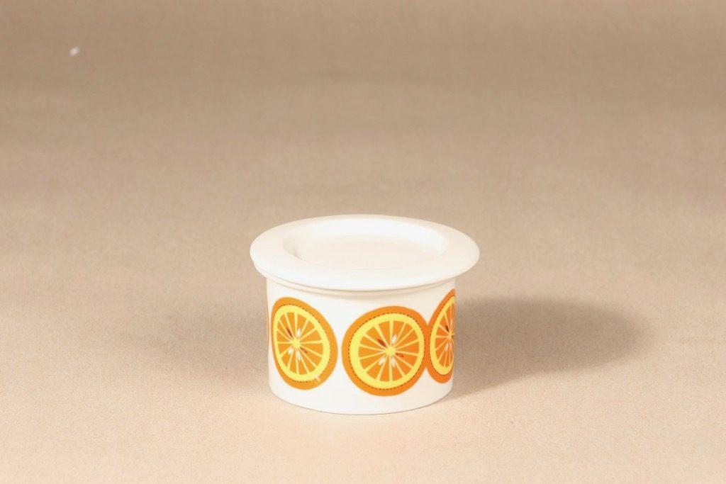 Arabia Pomona Appelsiini jar, designer Raija Uosikkinen, retro