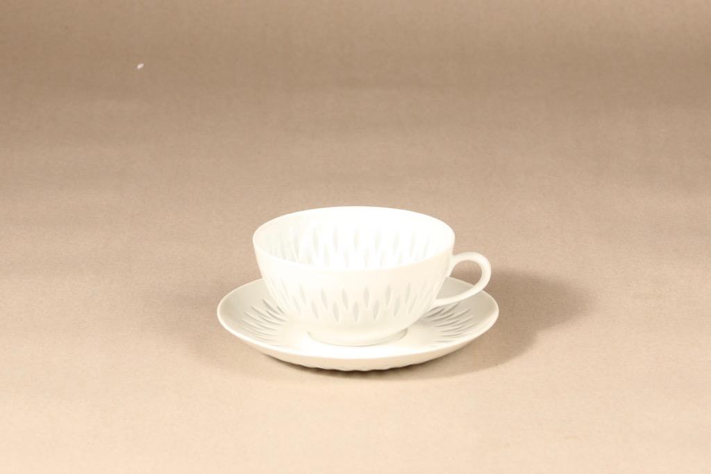 Arabia FK/D tea cup, porcelain, Friedl Holzer-Kjellberg
