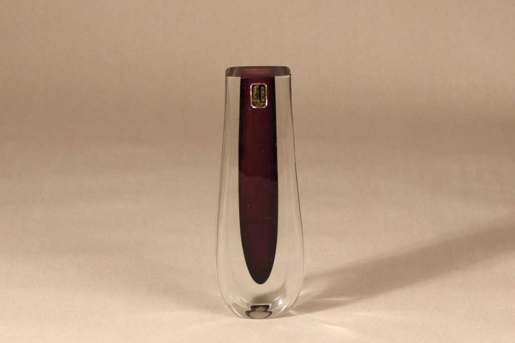 Kumela vase, signed, designer Armando Jacobino, signed