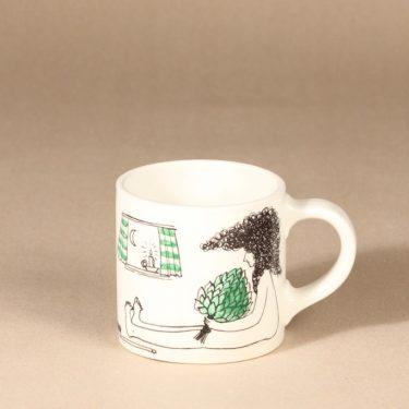 Arabia Löyly mug, signed, designer Gunvor Olin-Grönqvist, signed