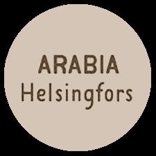 Arabia tehtaan ensimmäinen massaleima: Arabia Helsingfors