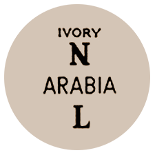 Arabian tehtaan värileima Ivory fajanssi
