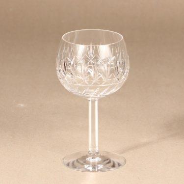 Riihimäen Lasi Yrjö viinilasi, kirkas, suunnittelija , kristalli