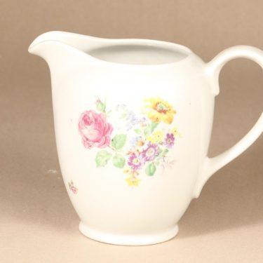 Arabia R 2 jug, silk screening, flower theme