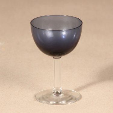 Nuutajärvi liqueur glass, blue, Saara Hopea