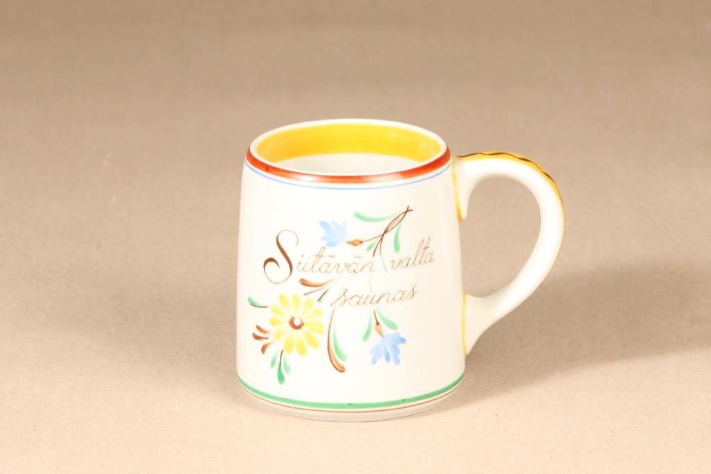 Arabia Sauna mug, multicolored, 0,4 l, silk screening
