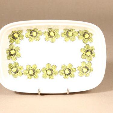 Arabia Primavera tarjoilukulho, syvä, suunnittelija Esteri Tomula, syvä, serikuva, kukka-aihe kuva 3