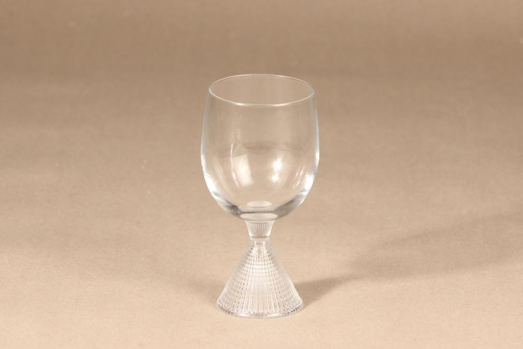 Iittala Briljant white wine glass, clear, Tapio Wirkkala