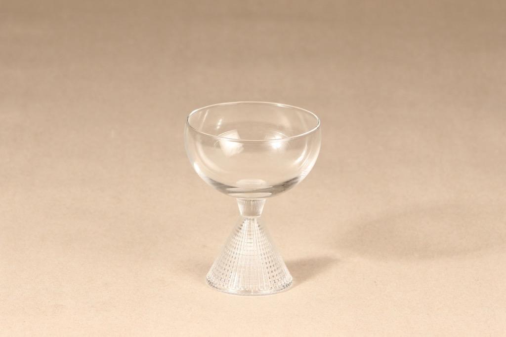 Iittala Briljant cocktail glass, clear, Tapio Wirkkala
