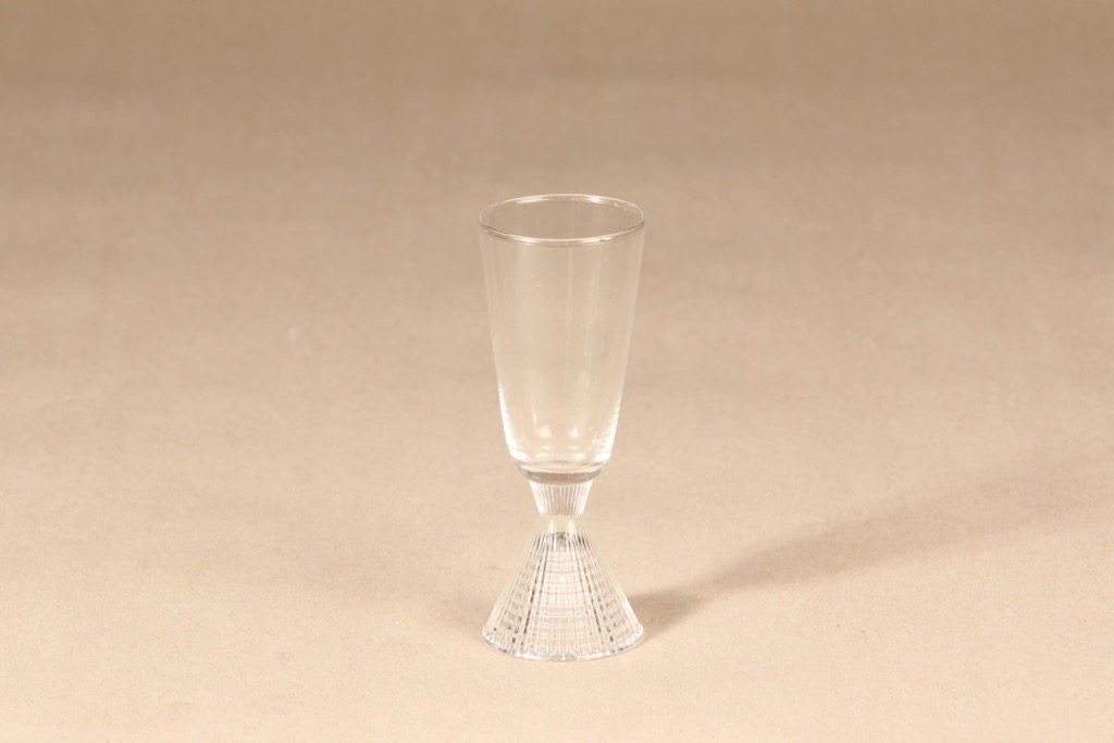 Iittala Briljant shot glass, clear, Tapio Wirkkala