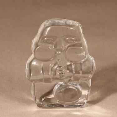 Iittala paperweight glassblower design Jorma Vennola