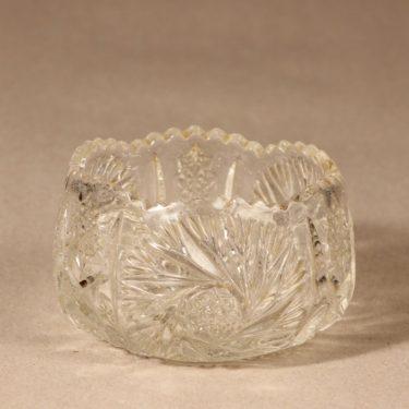 Riihimäen lasi sokerikko ja kermakko, kirkas, 2 kpl, suunnittelija ,  kuva 2