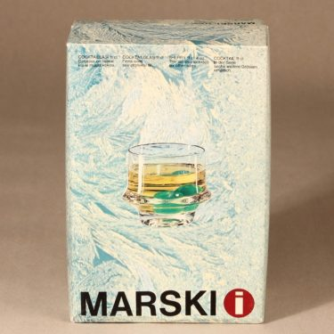 Iittala Marski Cocktail glasses, 6 kpl, Tapio Wirkkala