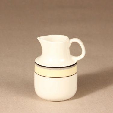 Arabia Veranda sokerikko ja kermakko, 2 kpl, suunnittelija Inkeri Leivo, raitakoriste kuva 3