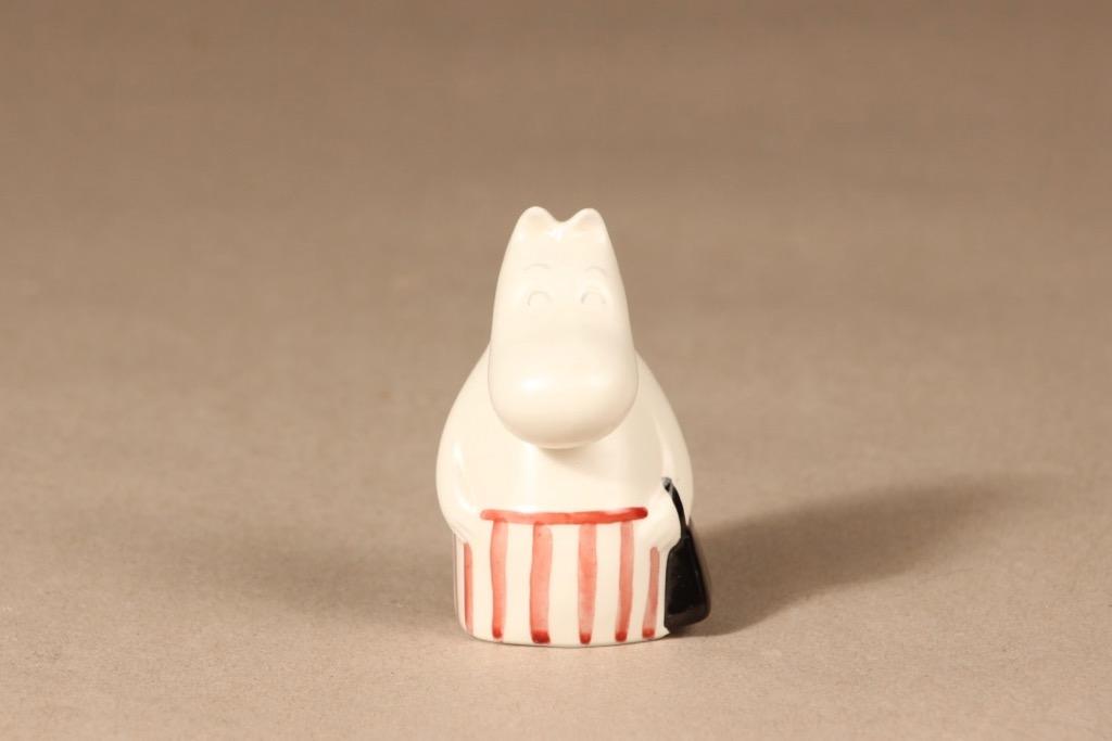 Arabia Muumi figuuri, Muumimamma, suunnittelija Tuulikki Pietilä, Muumimamma, käsinmaalattu, muumimamma, pieni