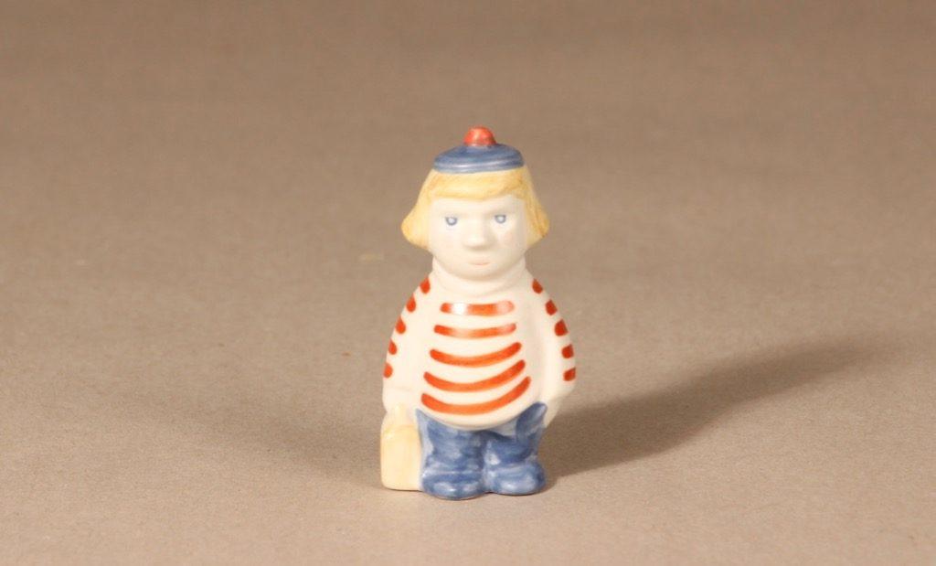 Arabia Muumi figuuri, Tuutikki, suunnittelija Tuulikki Pietilä, Tuutikki, käsinmaalattu, tuutikki, pieni