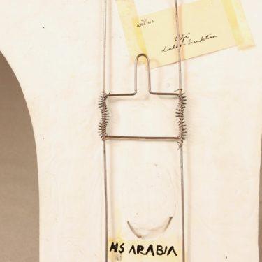 Arabia lampetti, uniikki, suunnittelija Heljä Liukko-Sundström, uniikki, lintuaihe, uniikki, signeerattu kuva 3