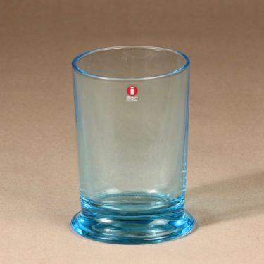 Iittala Boy glass, turquoise, designer Stefan Lindfors