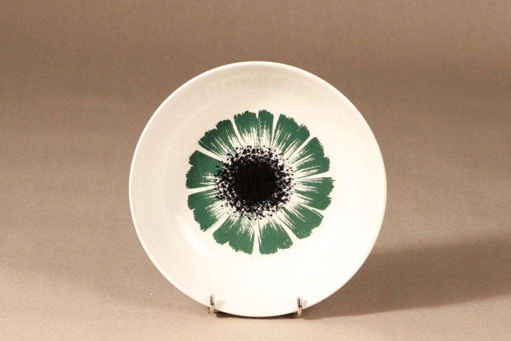 Arabia Asteri lautanen, syvä, suunnittelija , syvä, kukkakuvio, serikuva