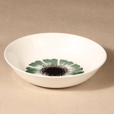 Arabia Asteri lautanen, syvä, suunnittelija , syvä, kukkakuvio, serikuva kuva 2