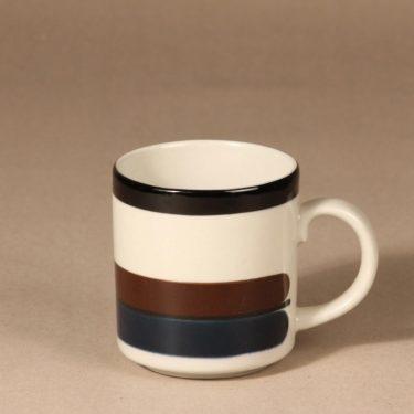 Arabia M mug, 0,35 cl, designer Anja Jaatinen-Winquist, stripe decoration