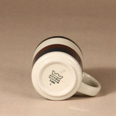 Arabia M  muki, 0,35 cl, suunnittelija Anja Jaatinen-Winquist, 0,35 cl, 35 cl, raitakoriste kuva 2