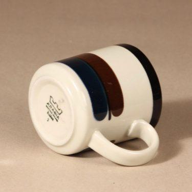 Arabia M  muki, 0,35 cl, suunnittelija Anja Jaatinen-Winquist, 0,35 cl, 35 cl, raitakoriste kuva 3