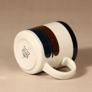 Arabia M mug, 0,35 cl, designer Anja Jaatinen-Winquist, stripe decoration, 3