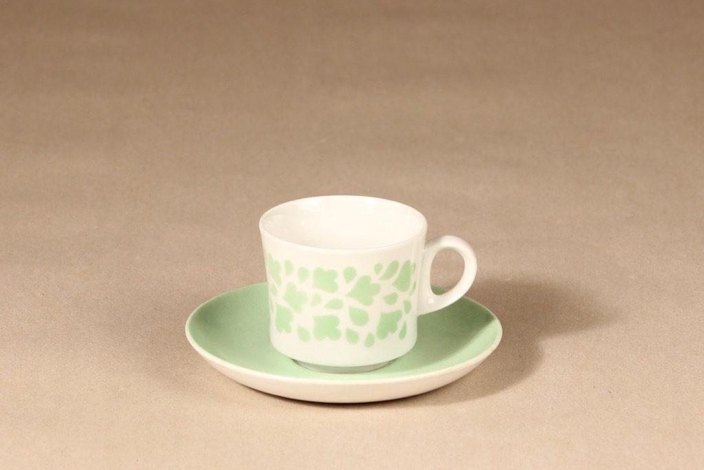 Arabia Varpu kahvikuppi, puhalluskoriste