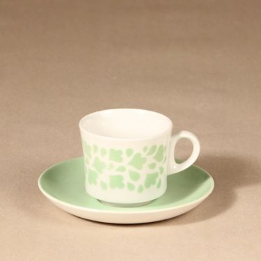 Arabia Varpu coffee cup, blown decoration