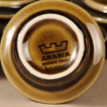 Arabia Kosmos munakuppi, puhalluskoriste, suunnittelija Gunvor Olin-Grönqvist, puhalluskoriste, puhalluskoriste, retro kuva 2