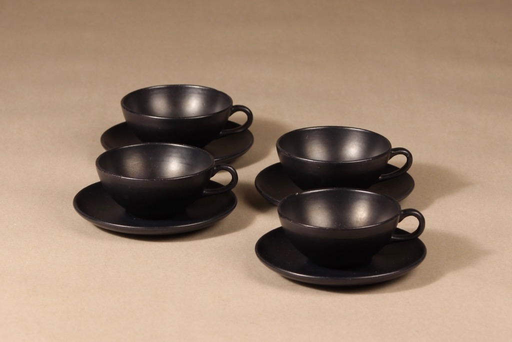 Kupittaan savi coffee cup, 4 pcs