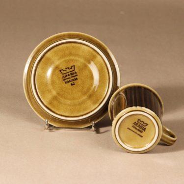 Arabia Kosmos kahvikuppi, puhalluskoriste, suunnittelija Gunvor Olin-Grönqvist, puhalluskoriste, puhalluskoriste, retro, signeerattu kuva 3