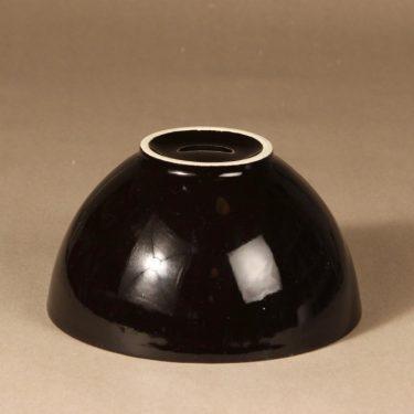 Arabia Kilta kulho, musta, suunnittelija Kaj Franck,  kuva 2
