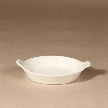 Arabia Kilta platter, white, designer Kaj Franck