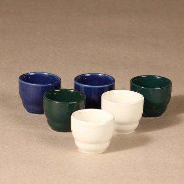 Arabia Kilta egg cup, 6 pcs, designer Kaj Franck