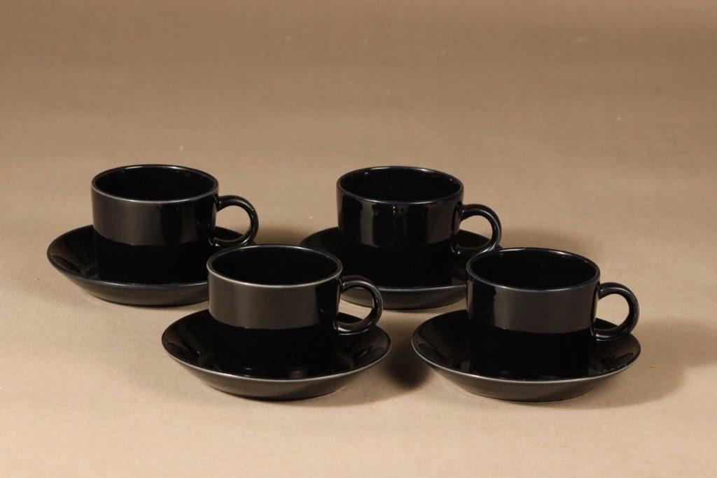 Arabia Kilta coffee cup, 4 pcs, Kaj Franck