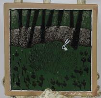 Jänis pensaassa