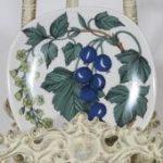 Arabia Botanica Suomuurain Lakka koristelautanen, suunnittelija Esteri Tomula